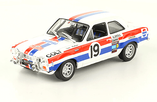 collezione rally monte carlo Ford Escort RS 1600 Mk I 1972 Timo Mäkinen - Henry Liddon