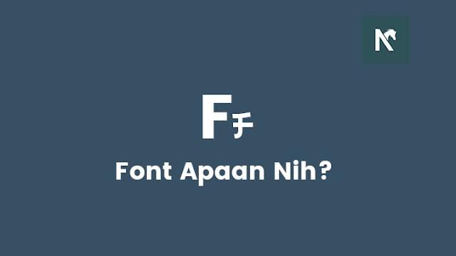 Cara Mengetahui Font Pada Gambar