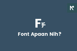 Cara Mengetahui Font (Tulisan) Pada Suatu Gambar