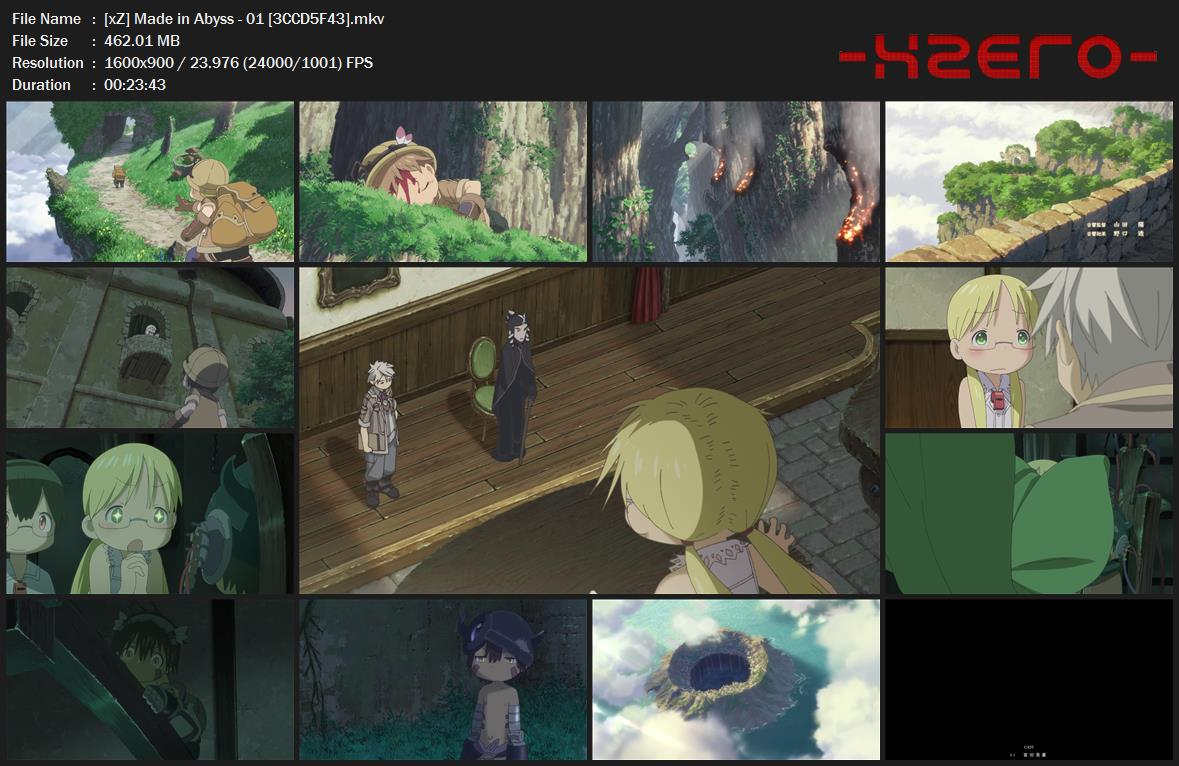 Capturas Made in Abyss