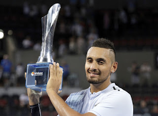 Kyrgios beats Harrison to win Brisbane International title