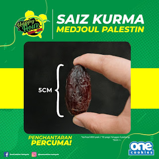 Saiz Kurma Medjoul Palestin
