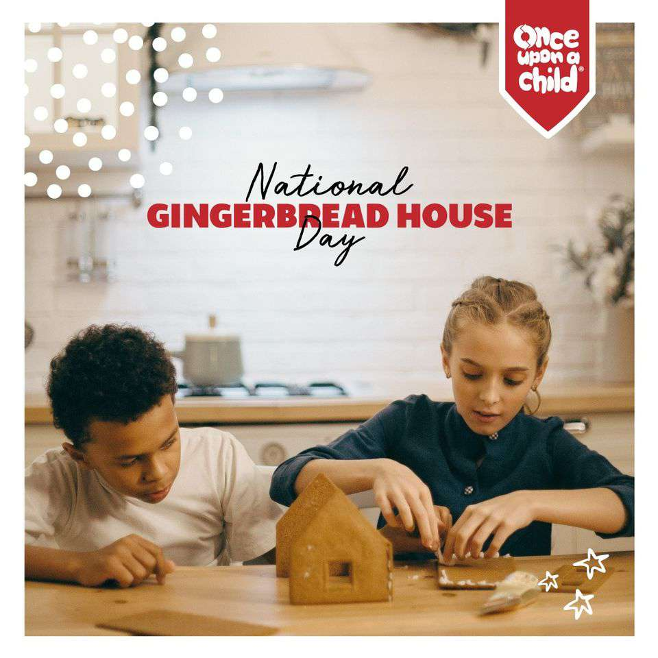 Gingerbread House Day Wishes Beautiful Image