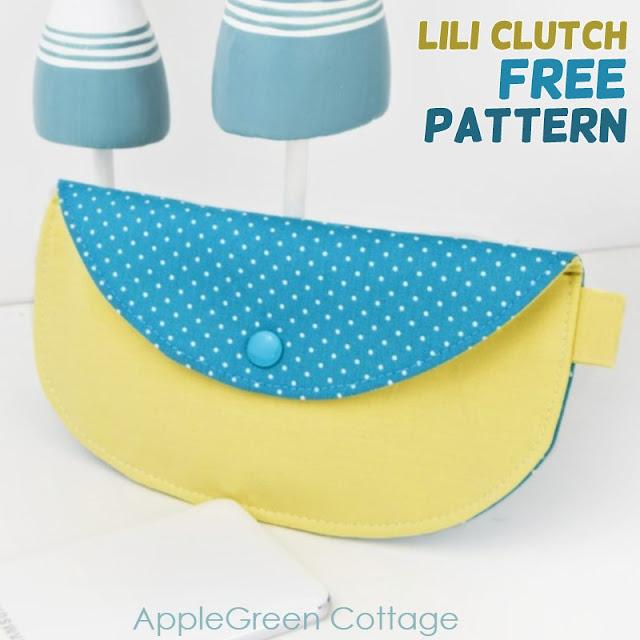 Free sewing pattern: Lili Clutch Purse - Free Pattern
