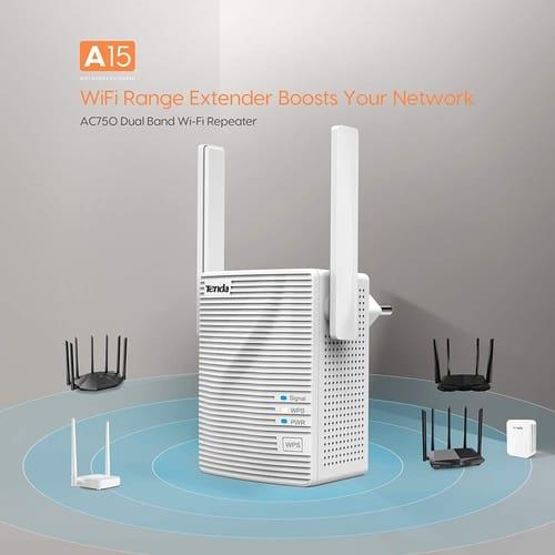 Review Tenda Wi-Fi Dual Band range extender