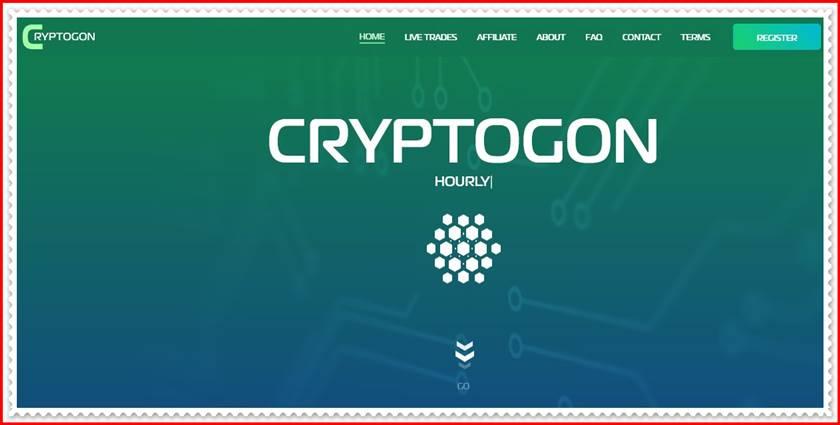 Мошеннический сайт cryptogon.io – Отзывы, развод, платит или лохотрон? Мошенники