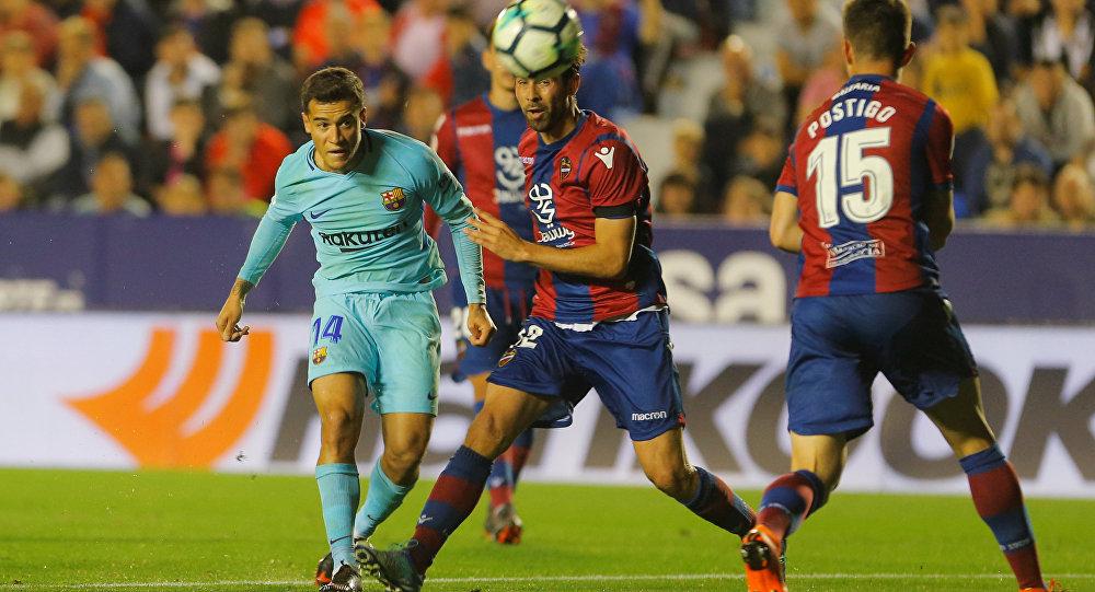 نتيجة مباراة برشلونة وليفانتي بتاريخ 02-02-2020 الدوري الاسباني