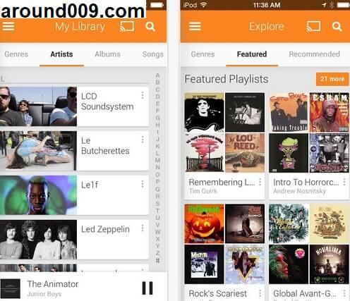 أفضل تطبيقات اغاني لسماع و تحميل الأغاني و الموسيقى مجانا بدون انترنت للاندرويد و الايفون