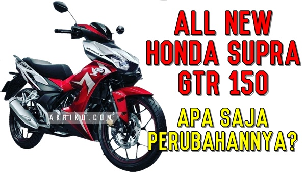 Beginikah Sosok Honda Supra GTR 150 Baru?
