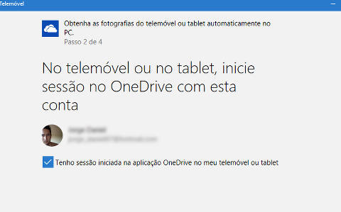 sincronizar windows 10 com o android