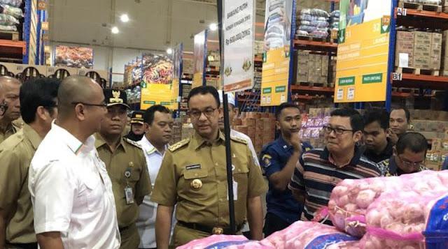 Anies Baswedan: Pasokan Pangan di Jakarta Aman, Harga Mayoritas Turun Setelah Lebaran