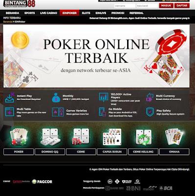 IDN POKER : Taruhan Judi Kartu Online ( TEXAS POKER, DOMINO QQ, CEME, CAPSA SUSUN, CEME KELILING, OMAHA, SUPER10 )