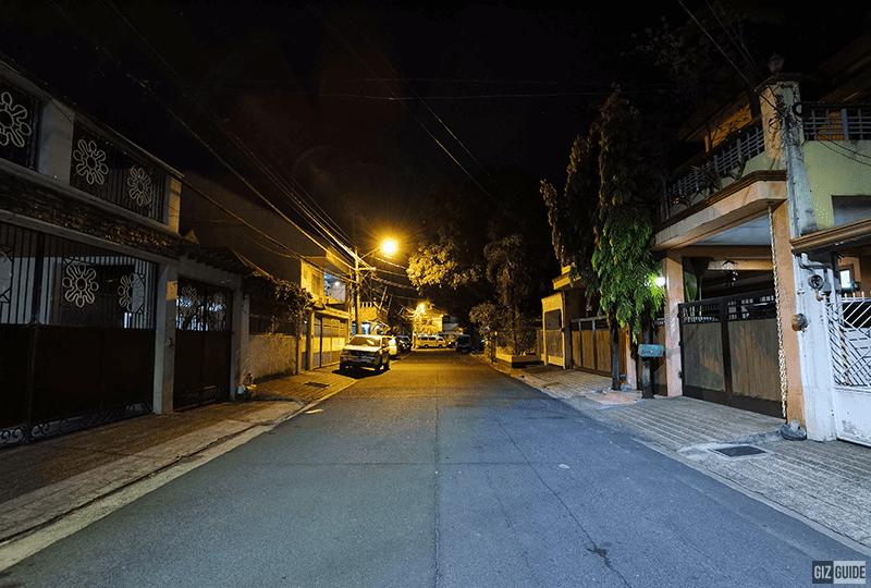 Low light ultra-wide w/o Night mode