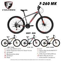 sepeda gunung fastrom f260mk mtb mountain bike