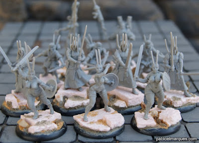 Miniaturas de 'Wrath of Kings'
