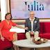 [VÍDEO] Eládio Clímaco em destaque no programa 'Júlia'