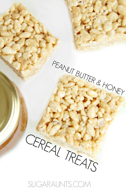 Try these easy Rice Krispie treats! I love Rice Krispies because they are easy to make and are no-bake, so you don't have to worry about heating up the home.