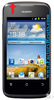 Soft Reset Huawei Ascend Y200