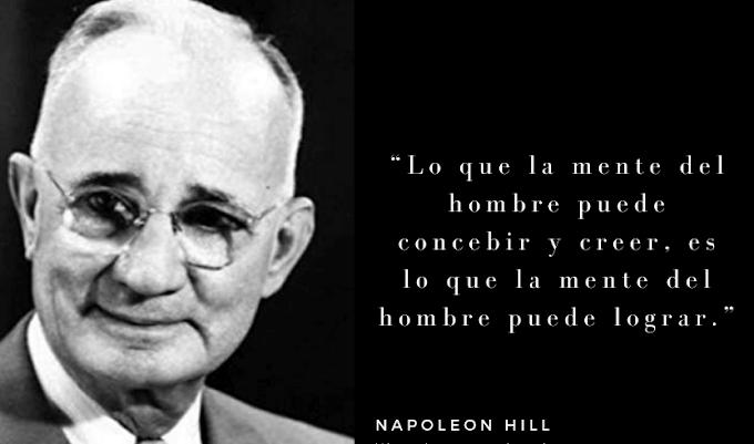 LAS MEJORES FRASES DE NAPOLEON HILL