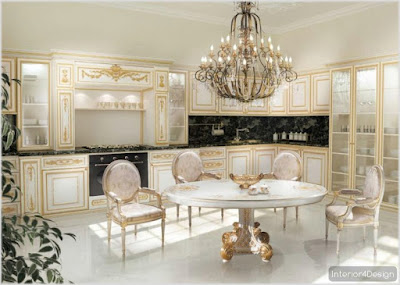 Classic Kitchen Decorations for Luxury Homes 12