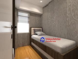 contoh desain interior kamar anak ranjang susun