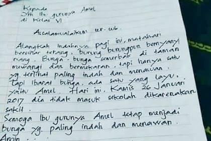 Contoh Surat Ijin Tidak Masuk Sekolah Terbaru 2019