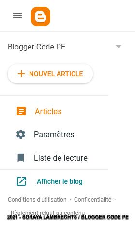 Rendre le blog privé avec liste personnalisée de lecteurs