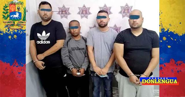 Cuatro venezolanos detenidos en México por trafico de personas