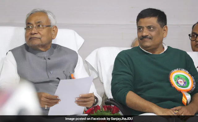 नीतीश कुमार सरकार में मंत्री संजय झा ने कहा - नाकाम हुआ लॉकडाउन