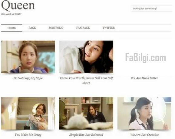 Blogger Responsive Foto Galerisi Teması İndir 2020 - Free Queen
