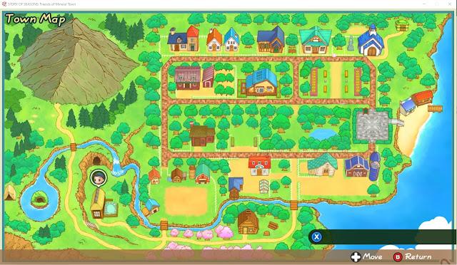 Map dalam game SoS: FoMT