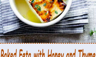Baked Feta with Honey and Thyme