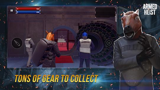 تحميل لعبة Armed Heist: TPS 3D Sniper shooting gun games MOD مهكرة للاندرويد