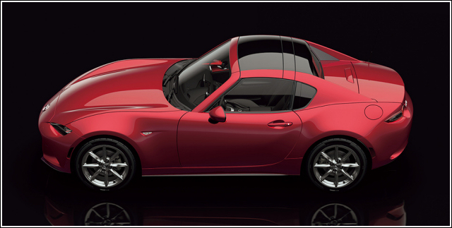 MX-5 Roadster ND Retractable Fastback