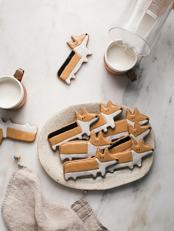 Corgi Chai Cookies recipe by A Cozy Kitchen