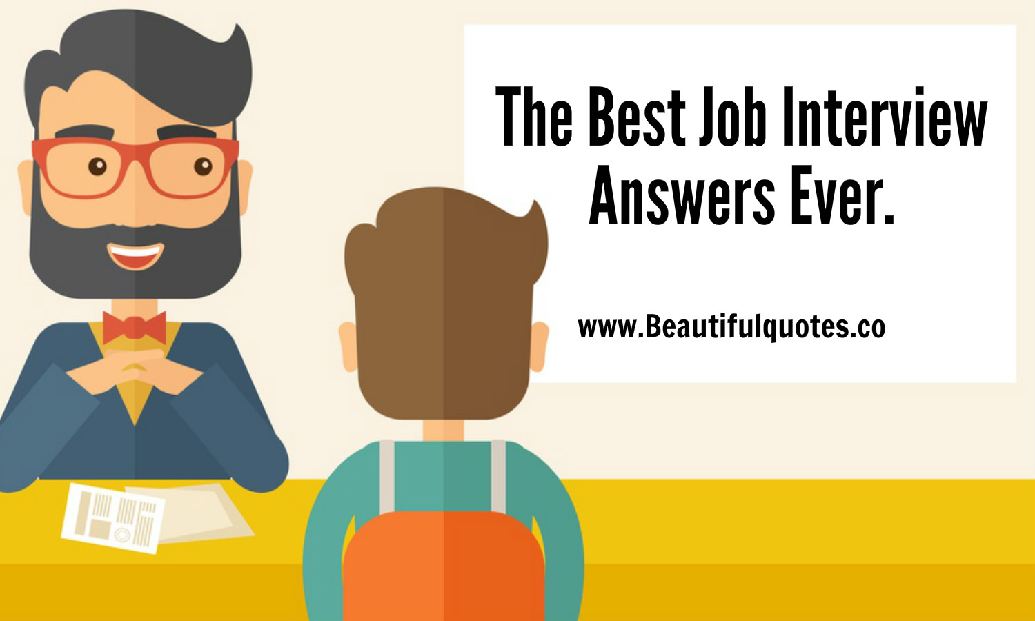 best interview answers