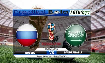 PREDIKSI SKORE RUSSIA VS SAUDI ARABIA 14 JUNI 2018