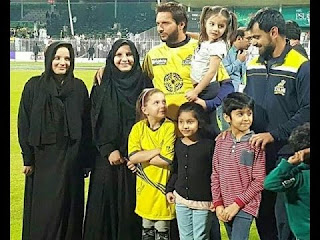 Shahid Afridi's Daughters