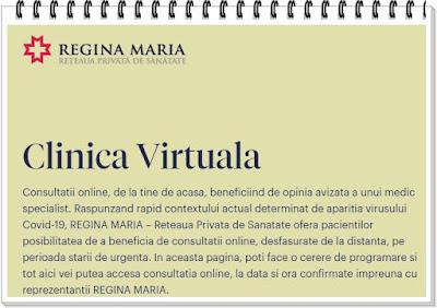 login contulmeu regina maria clinica virtuala preturi
