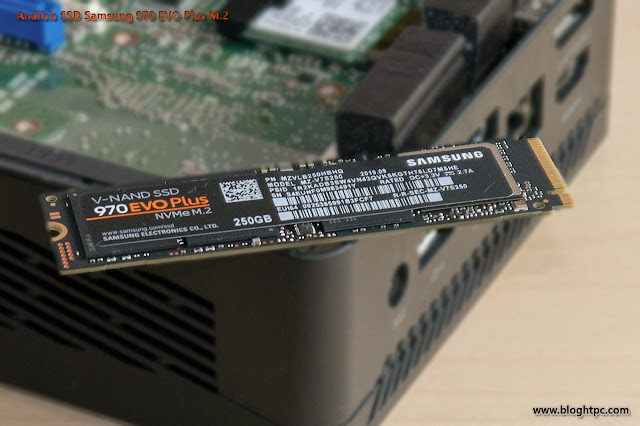 DETALLE SAMSUNG 970 EVO PLUS 250GB