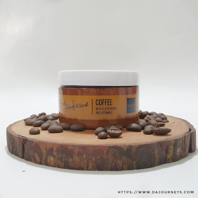 Scarlett Whitening Body Scrub Coffee Series
