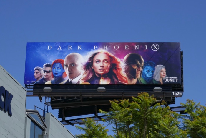 Dark Phoenix film billboard
