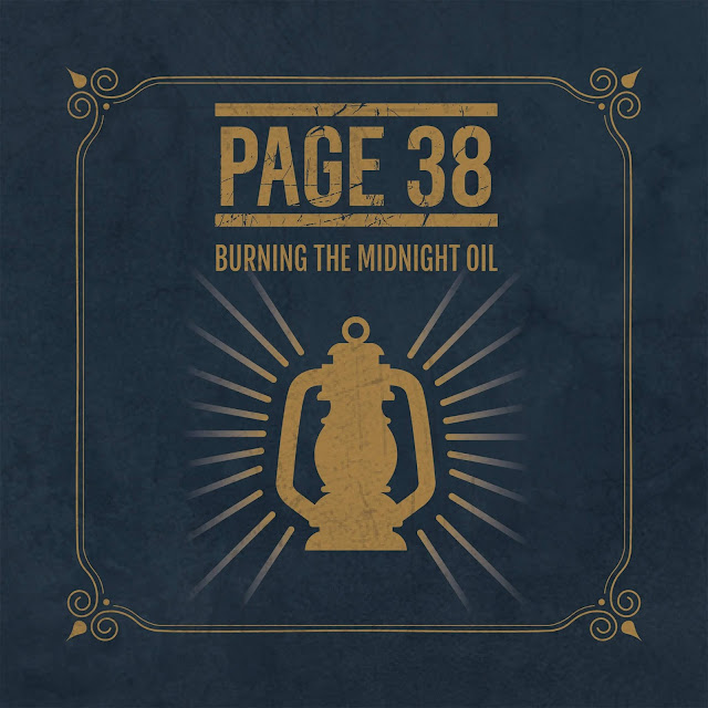 Behind The Artworks: Page 38 - Burning The Midnight Oil (2019)