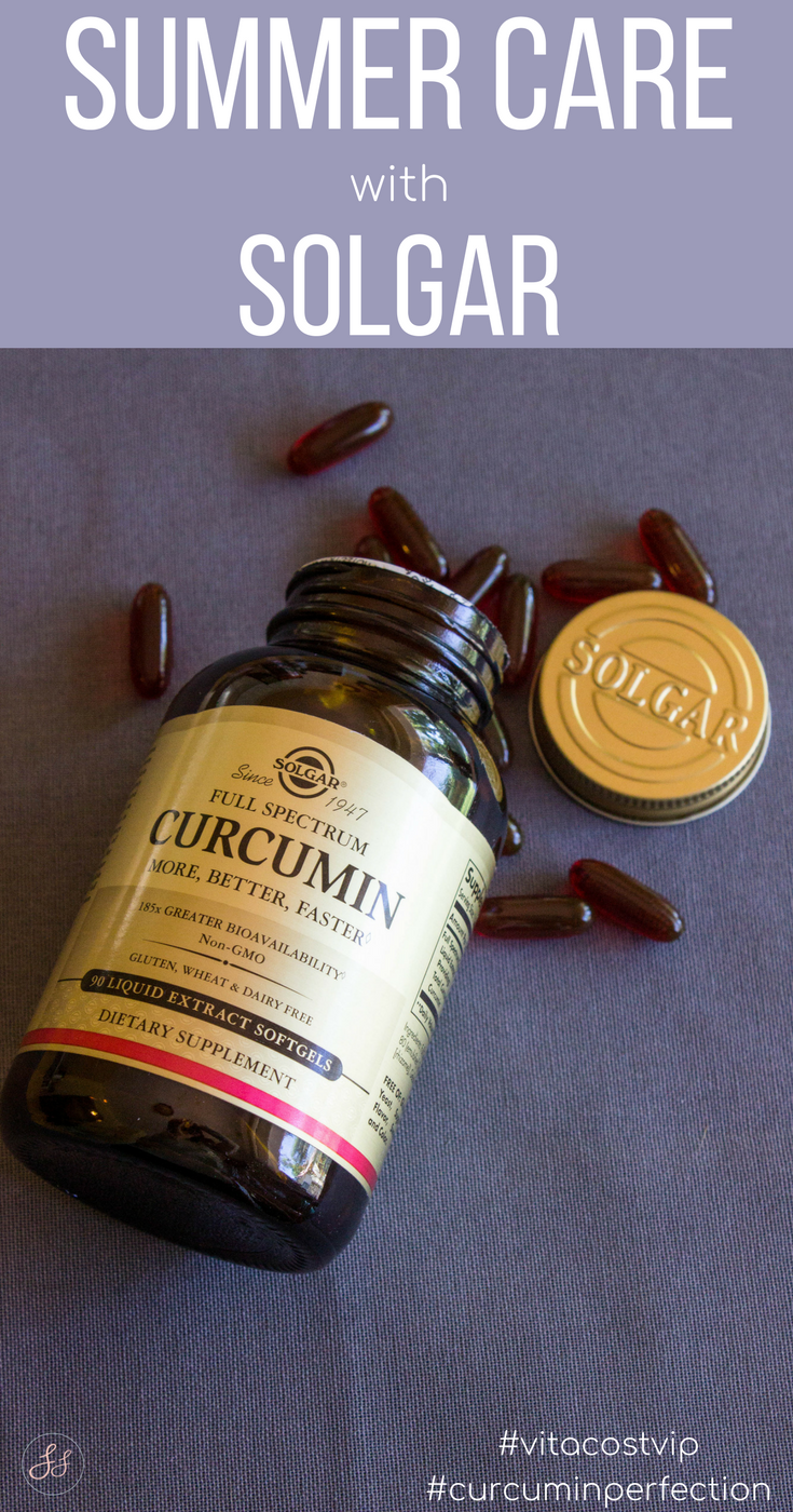 Summer Care with Solgar. Solgar Curcumin