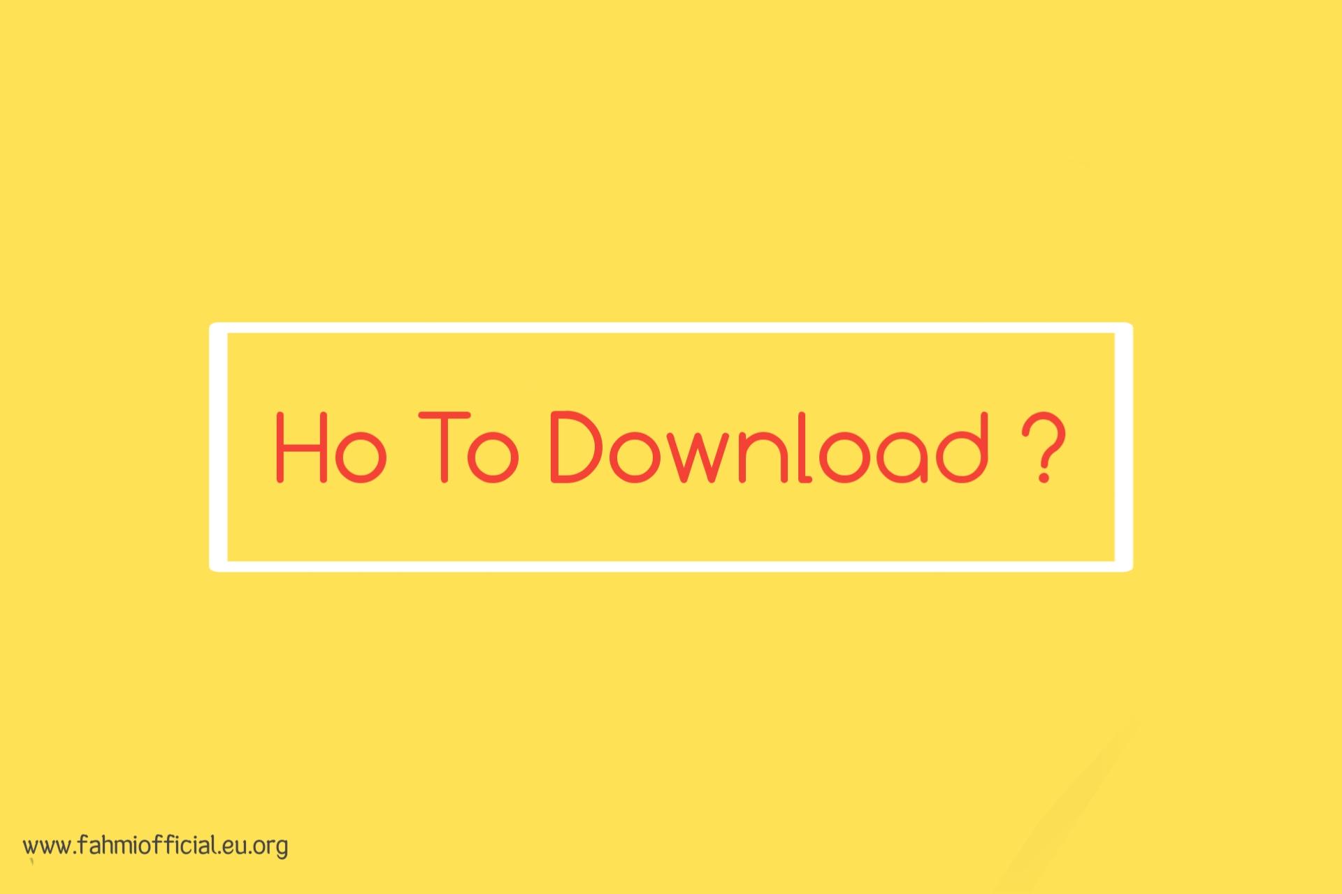 How To Download Blogger Templates at Fahmi Cog [fahmicog.blogspot.com]