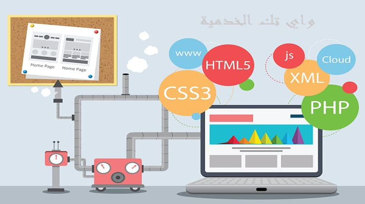 برمجة الويب و تصميم المواقع الالكترونية