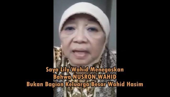 Ibu Lili Wahid Bilang Nusron Wahid Bukanlah Keluarga Besar Gusdur, Siapa Nusron Wahid Yang Menjadi Viral Tersebut ?