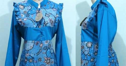 Model Baju Kerja Wanita Terbaru Muslim Gemuk Hamil Modis