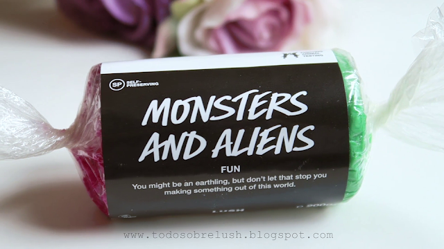 lush monsters and aliens fun