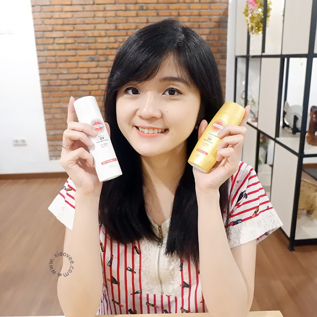 KOSE Suncut UV Protect Gel & Spray Review, KOSE Cosmeport Indonesia, KOSE sunscreen review, KOSE Suncut Essence Review, KOSE Suncut UV Protect Gel Review, KOSE Suncut UV Protect Spray Review, Review sunscreen bagus, rekomendasi sunscreen bagus, review sunscreen indonesia